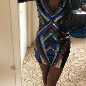 Shimmery Express Party Dress